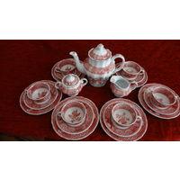 Сервиз чайный на 6 персон ,Англия,клеймо,без дефектов .