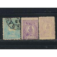 Иран Персия 1889 Герб Стандарт #64,65D