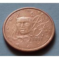 5 евроцентов, Франция 2011 г., AU