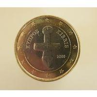 1 евро 2008 Кипр