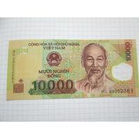 ВЬЕТНАМ 10 000 ДОНГОВ ПОЛИМЕРНАЯ UNC