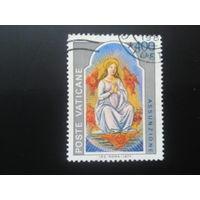 Ватикан 1977 дева Мария, миниатюра