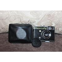 Фотоаппарат ЧАЙКА-3, времён СССР, челхол, крышка на объектив, хорошее состояние.