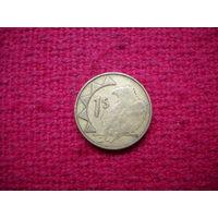 Намибия 1 доллар 1993 г.