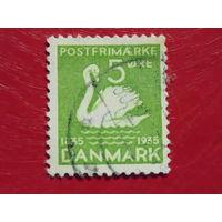 Дания 1935г. Лебедь