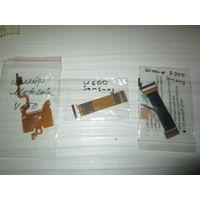 Сборка шлейфов к ретромобильникам: Самсунг (Samsung) U600, D900, Моторола (Motorola) V150.
