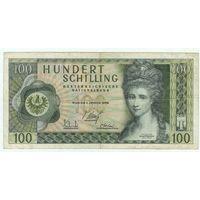 Австрия 100 крон 1969 год.