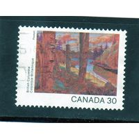 Канада.Ми-845. Живопись.Британская Колумбия.Серия: День Канады. Картины канадских ландшафтов.1982.