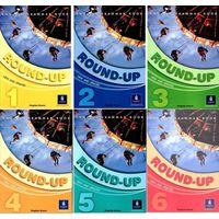 """Round-Up + New Round-Up (серия учебников для изучения английского языка) + Английский язык! Большой понятный самоучитель. Все подробно и """"по полочкам"""""""