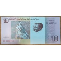 10 кванза 2012 года - Ангола - UNC