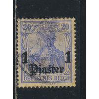 Германия Почта за рубежом Османская Имп (Турция) 1905 Надп #38в