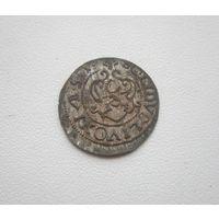 Шиллинг 1651г. Кристина Августа Ваза - Ливония (все с 1 руб.).