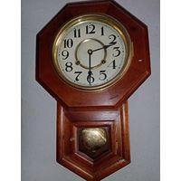 """Небольшие настенные часы """"Беккер"""", 50см высота. рабочие."""