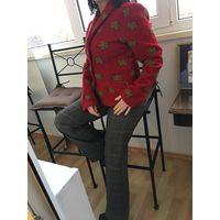 Пиджак жакет кардиган 44-46 шерсть вирджинская