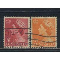 GB Австралия Доминион 1953 EII Стандарт Полная #229-30