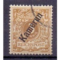Германия Камерун 3 пф ГАШ 1897 г