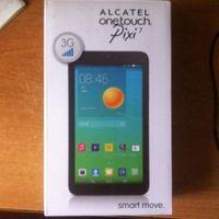 "Alcatel OneTouch Pixi 7 4GB 3G Black 7.0"" (1024x600), Android, флэш-память 4 ГБ, 3G, 2 ядра, хорошая батарея, есть мелкие царапки, цвет черный, комплект в коробке, гарантия 1месяц.  Находимся г.Минск,"