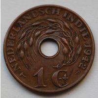 Нидерландская Индия, 1 цент 1942 г. Р