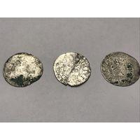 Пражский грош 3шт. Король Вацлав IV (1378 - 1419)