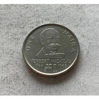 Нигерия 1 найра 1991
