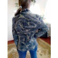 Куртка джинс камуфляж р.ХС
