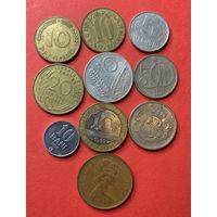10 монет из 10 стран - 8
