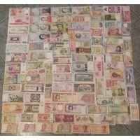 СУПЕР ЛОТ. 100 банкнот в состоянии UNC.