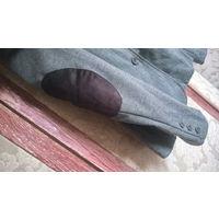 Стильный пиджак-жакет в елочку, 46-48