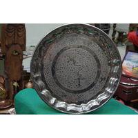 Поднос с серебрением  ( 31,5 см )