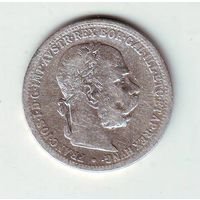 Австрия. 1 крона 1901 г.