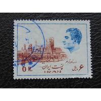Иран 1975г. Шах Мохаммед Реза Пехлеви.