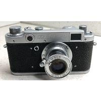 Фотоаппарат ФЭД-2 1955 г. ранний с выдвижным объективом ФЭД (Индустар-10) исправный