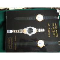 Каталог-аукционник   часов   DR.H. CROTT  2001 год