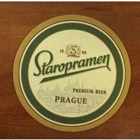 Подставка под пиво Staropramen /Чехия/ No 18