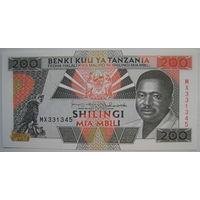Танзания 200 шиллингов (g)