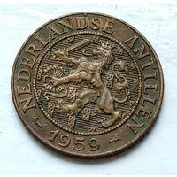 Нидерландские Антильские острова 2.5 цента, 1959 1-8-37
