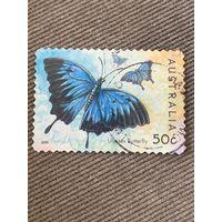 Австралия 2003. Ulysses butterfly. Марка из серии