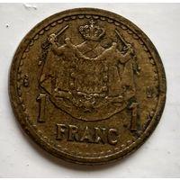 Монако 1 франк, 1945  3-4-4