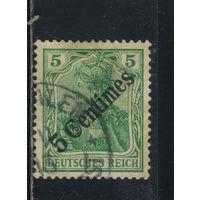 Германия Почта за рубежом Османская Имп (Турция) 1908 Надп #48