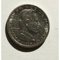 Монако 1/2 франка, 1965 5-1-51