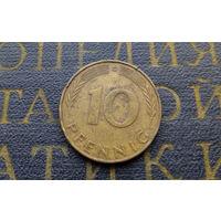10 пфеннигов 1971 (G) Германия ФРГ #02