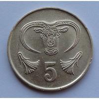 Кипр 5 центов. 1983