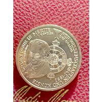 10 марок ФРГ серебро 0,625 A.v.Humboldt.63.