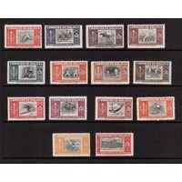 Боливия-1951(Мих.478-491,Бл.11-18) **, Спорт, футбол
