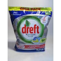 Капсулы (таблетки) для посудомйки Dreft Platinum All in One 90 шт (Германия)