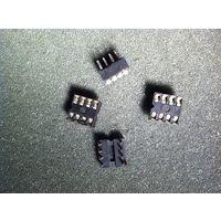 Панель микросхемы, 8 выводов(цена за 1шт)