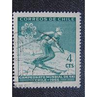 Чили 1966 г. Спорт.