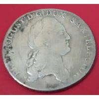 Германия. Саксония. 1 талер 1784.