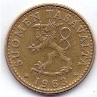 Финляндия, 20 пенни 1963 года, S.