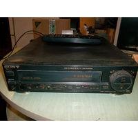 Видеомагнитофон SONY SLK-XR 130  с пультом